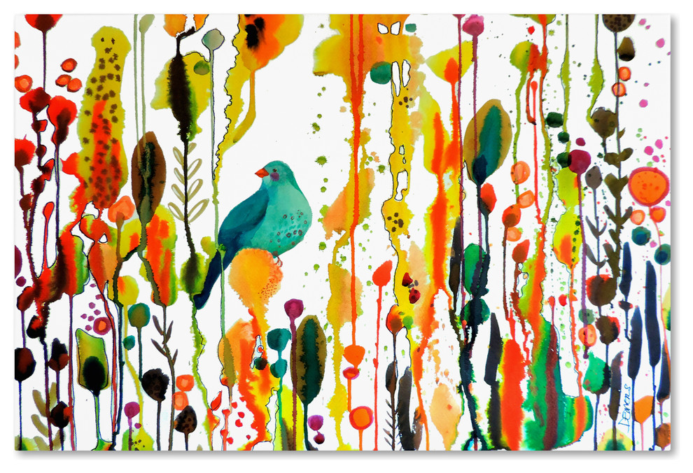 Sylvie Demers Retrouver Son Chemin Canvas Art Contemporary Prints And Posters By Trademark Global Houzz