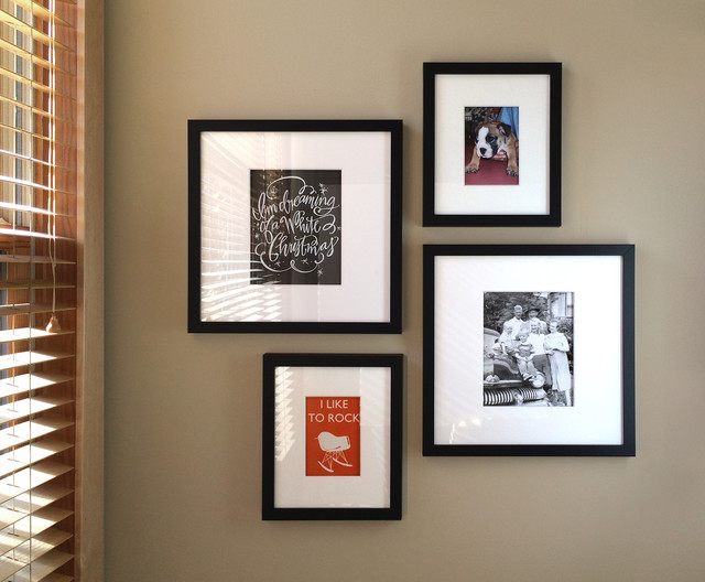 Wall Photo Ideas gallery wall ideas - modern - chicago -change of art®