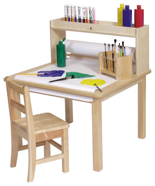 Steffywood Kids Craft Creativity Desk Wooden Art Table