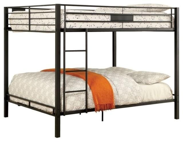 ee32050ceecb Furniture of America Claren Metal Bunk Bed