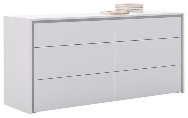 Zen Dresser, White Lacquer.