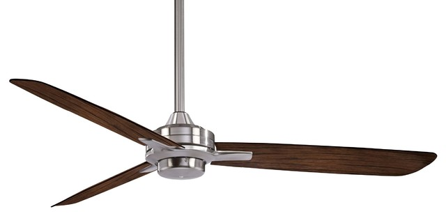 52 rudolph ceiling fan brushed nickel transitional ceiling 52 rudolph ceiling fan brushed nickel aloadofball Choice Image