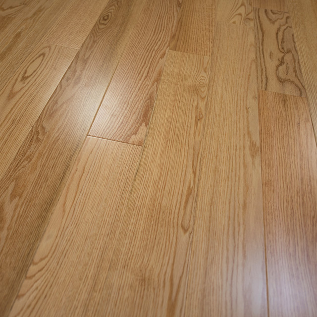 Red Oak Prefinished Engineered Wood