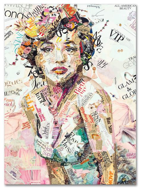 &x27;glam & Glory&x27; Canvas Art By Ines Kouidis. -1