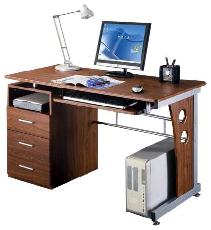 Techni Mobili Laminate Computer Desk Transitional