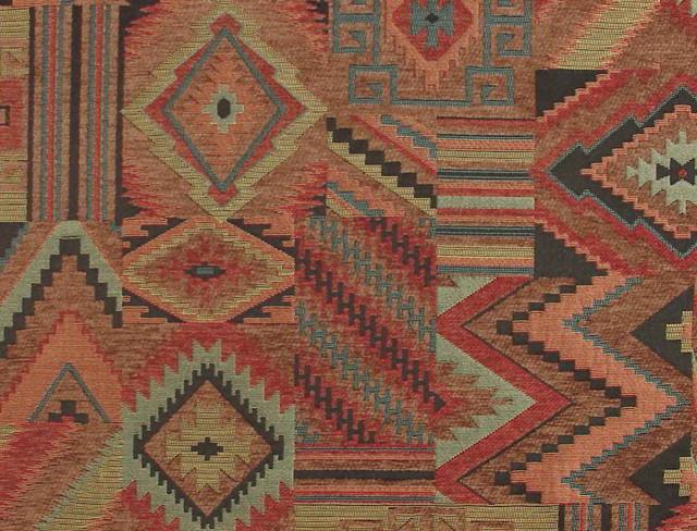 Southwestern Upholstery Fabric, Southwest, Mesa