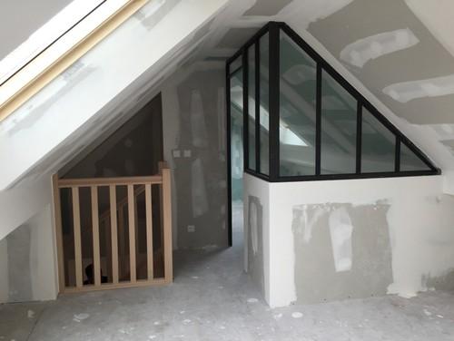 combles verri re. Black Bedroom Furniture Sets. Home Design Ideas