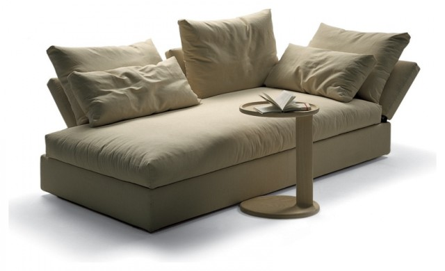Flexform flexform sunny chaise longue view in your for Ava chaise lounge