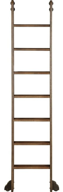 Parker House Aria Library Ladder, Smoked Pecan.