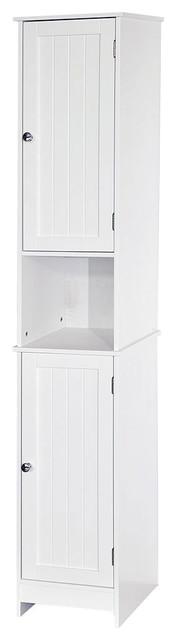 Bath Vida Priano 2-Door Tall Bathroom Cabinet