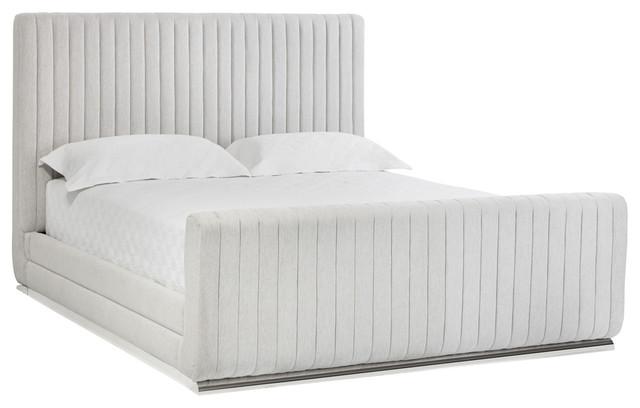Hylan Bed, Hemingway Marble Fabric, King.