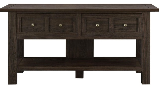 Enjoyable Classic 55 Inch Tv Stand Versatile Accent Console Table With 2 Storage Drawers Home Interior And Landscaping Mentranervesignezvosmurscom