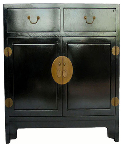 Black Lacquer Cabinet - Asian - Accent Chests And Cabinets - by DYAG ...