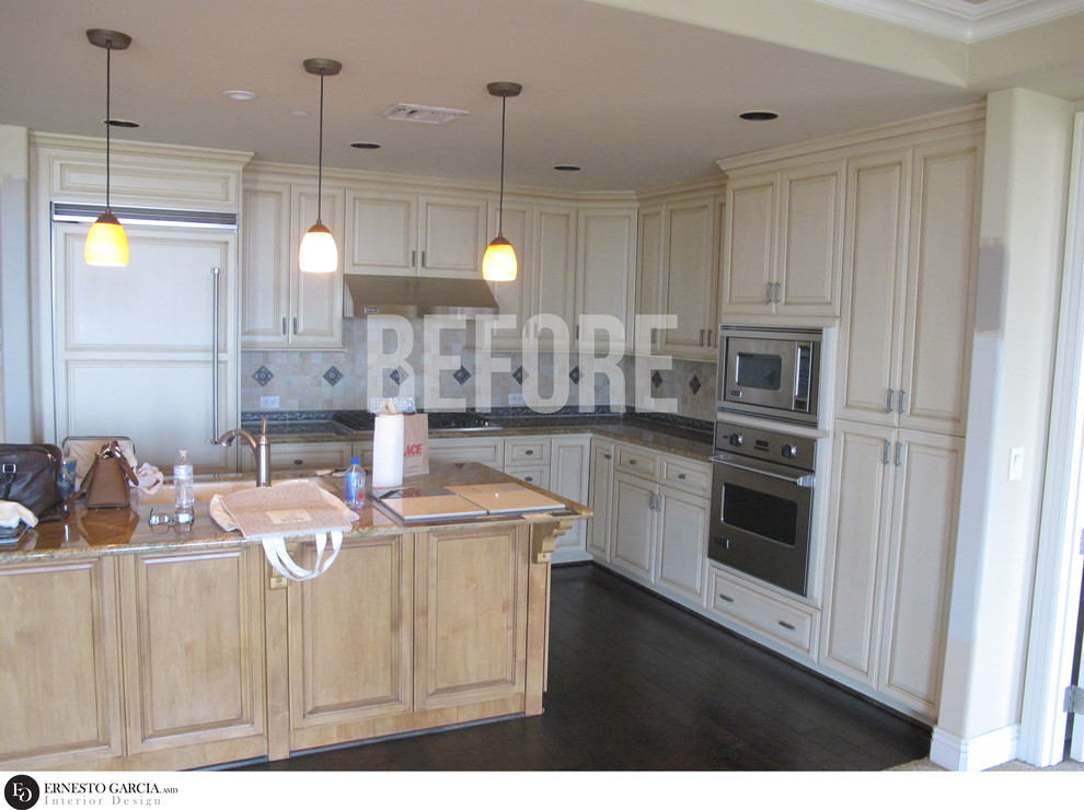 Contemporary Waterfront Living - KITCHEN BEFORE