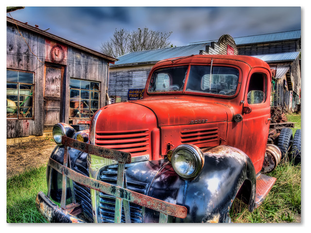 d6eac7bf8e Buy Bob Rouse &x27;red Dodge 2&x27; Canvas Art, 47x35 On Sale