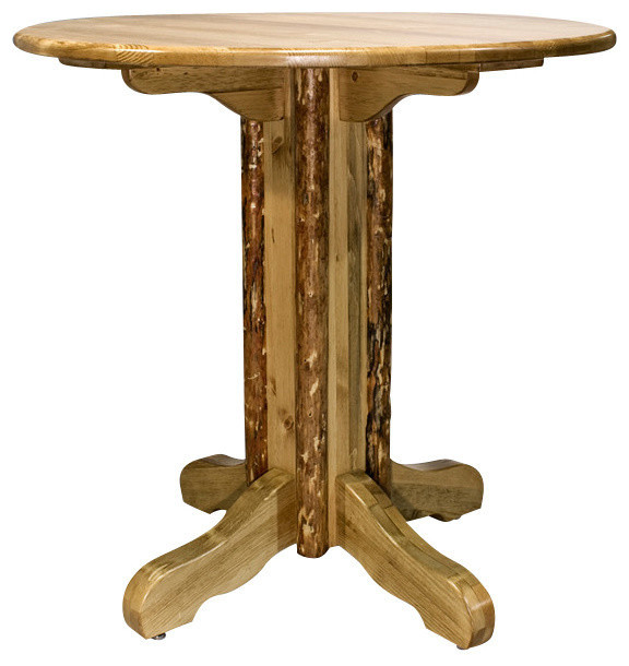 montana woodworks glacier country collection pub table dining tables