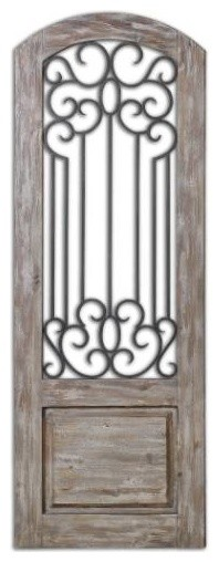 Uttermost Mulino Distresed Wall Panel.