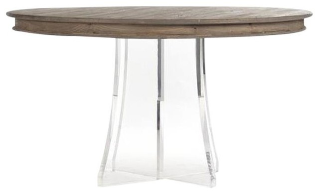 Dining Table Callum Birch New Zt 347 Contemporary Tables By Euroluxhome