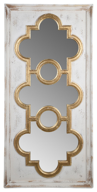 "Henley Decorative Mirror, 57.5x27.5x2""."