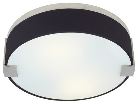 tech lighting baxter flush mount ceiling light black fabric contemporary flush mount black fabric lighting