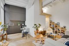 Visite Privée : Un 23 m2 gagne un espace nuit en mezzanine