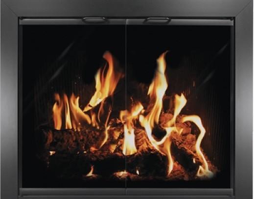 Chalet Masonry Fireplace Enclosure, 36x26.