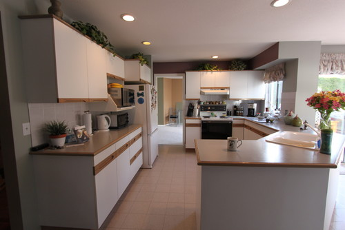 Full Kitchen Remodel of Typical Suburban Home, Vancouver B.C.
