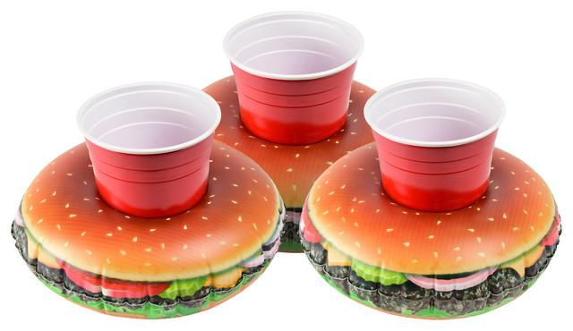 Gofloats Cheeseburger Drink Float, 3 Pack.