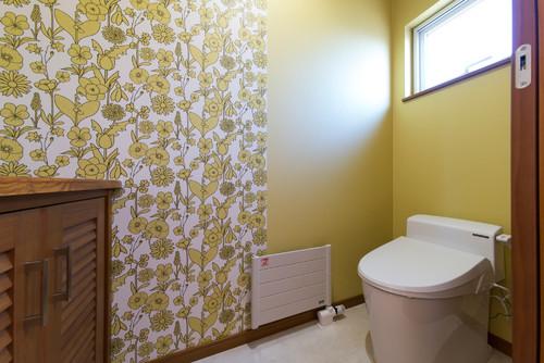 トイレにオススメの壁紙トイレに合うアクセントクロスや色は
