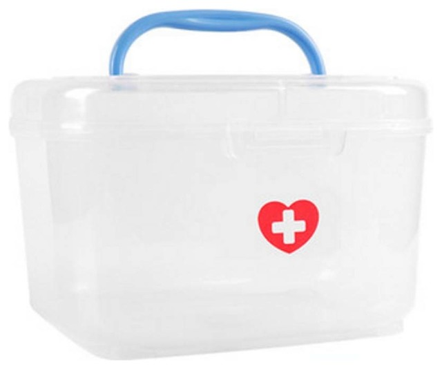 "7.87""x6.3""x5.04"" Medicine Storage Container, Box."