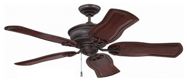 "Craftmade Mgn52 Monaghan 52"" 5 Blade Ceiling Fan, Blade Selection Required."