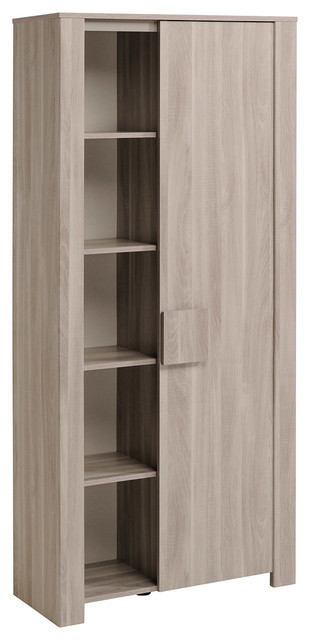 Warren Oak Bookcase, Silex Oak.