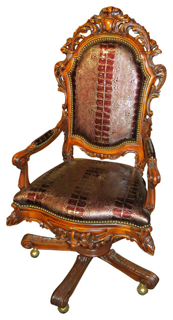 Bard of Avon Carved Armchair