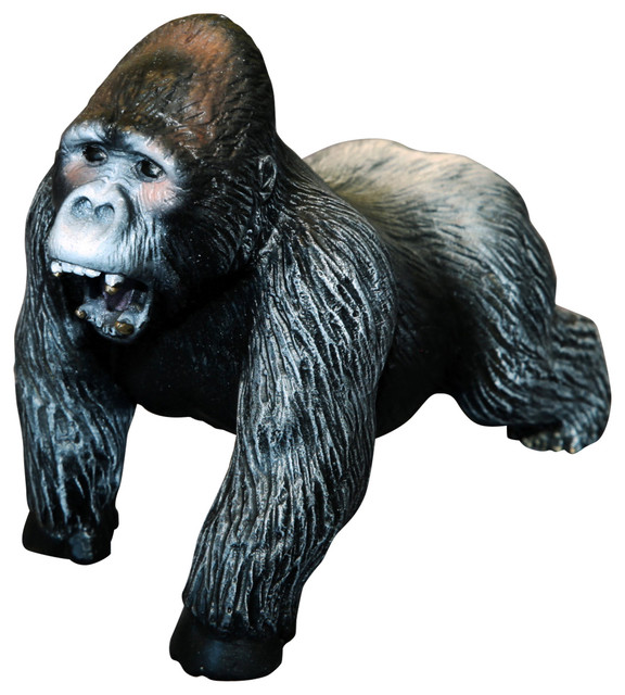 Art Gorilla Bronze Figurine