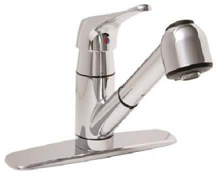Premier Sonoma Pull Out Kitchen Faucet, With Spray, Chrome.