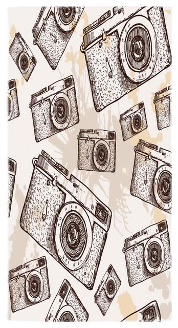 Vintage Cameras Towel.