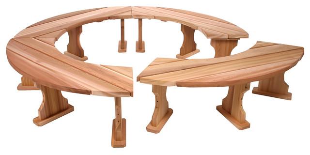 4pc Garden Bench. Set.