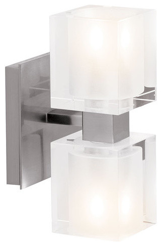 "Bathroom Light Up Or Down access lighting 23906 two light up / down lighting 4.25"" wide"