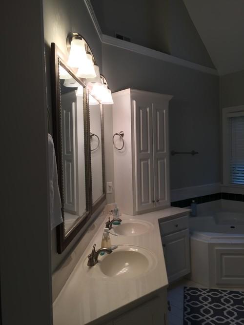 Bath Reno Help W Angled Wall Vanity