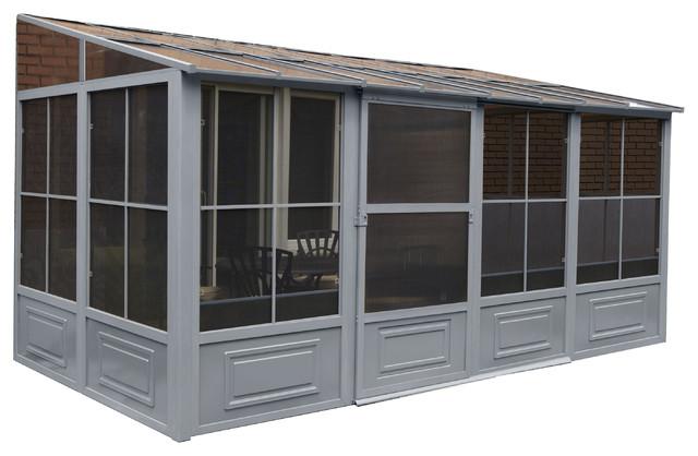 All Season Add-A-Rooms In Gray, 8&x27;x16&x27;.
