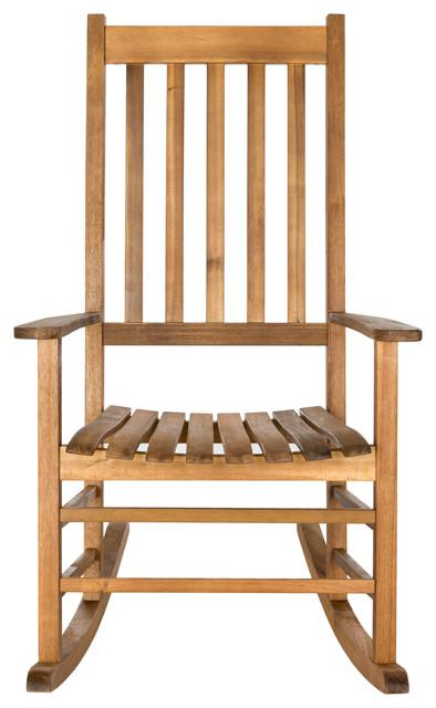 Safavieh Shasta Outdoor Rocking Chair Transitional Outdoor