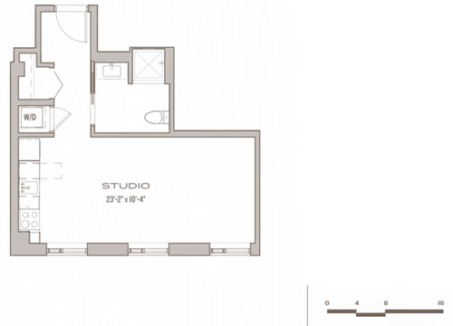 Studio Apartment: Is this the best furniture layout?