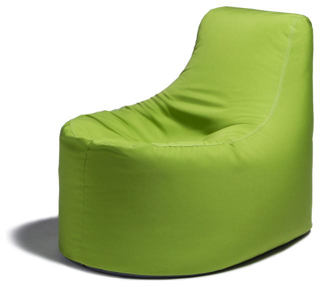 Jaxx Avondale Outdoor Patio Bean Bag Chair Contemporary Outdoor Dining Ch
