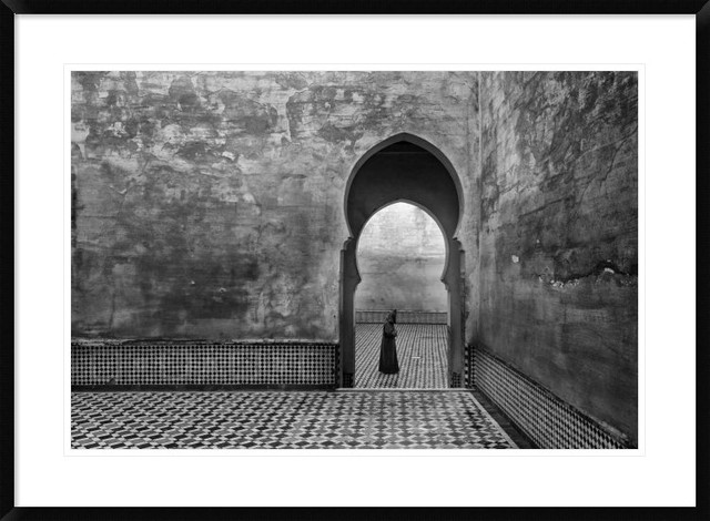 """Old World"" Framed Digital Print by Ali Khataw, 38""x28"""