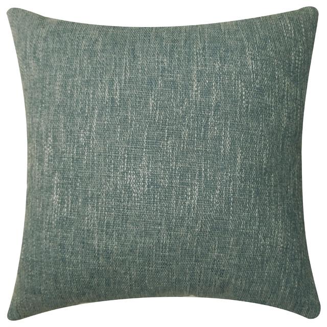 Ordinaire Bellville Decorative Pillow, Blue Steel