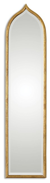 Fedala Gold Arched Mirror.