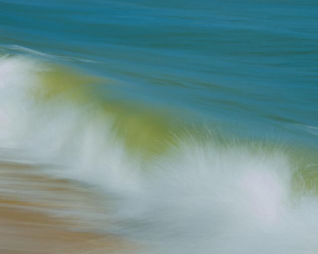 """Waves"" Nature Photography, Coastal Wall Art Print 20""x24"""