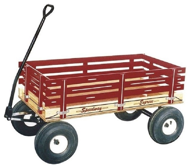 Shop Houzz Speedway Express Garden Wagon With Hand Brakes and 13
