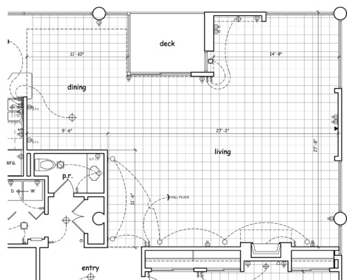Help w furniture layout in open plan living room with two for Room layout help