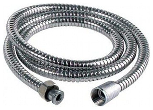 Enki 150 cm Flexible Bathroom Shower Head Hose Pipe Replacement, Stainless Steel